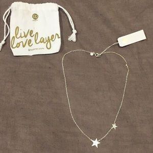 Silver Super Star necklace - gorjana